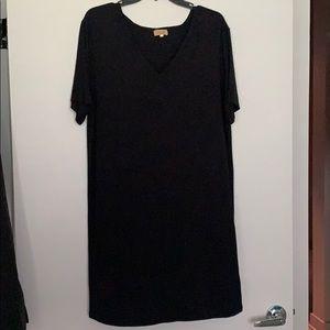 Dresses & Skirts - Black Piko TShirt Dress